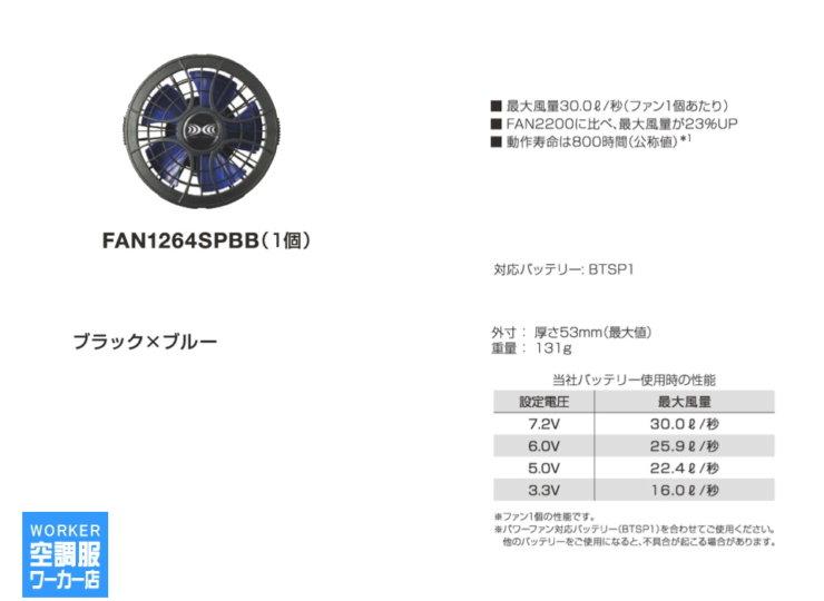 FAN1264SPBB(1個)